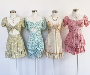 dress, dresses, and girly image