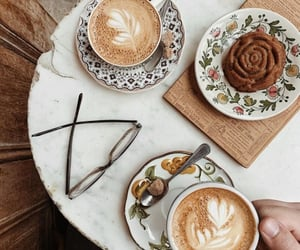 aesthetic, cafe, and sugar image