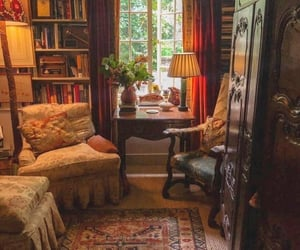 cozy, interior, and reading image
