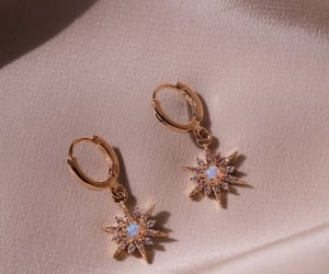 fashion, aesthetic, and earrings image