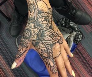 ink, tat, and tattoo image