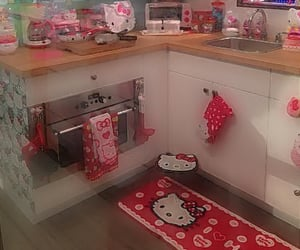 hello kitty, house, and cute image