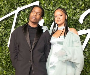 rihanna, fenty, and asap rocky image