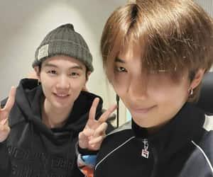 jin, min yoongi, and v image