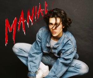 album, single, and maniac image