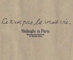 midnight in paris, paris, and woody allen image