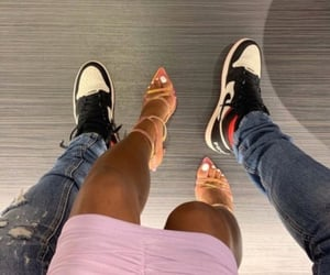 couple, shoes, and lové image