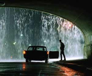 rain and matrix image