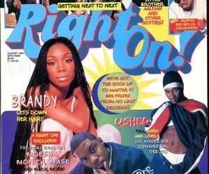 magazine, usher, and brandy image