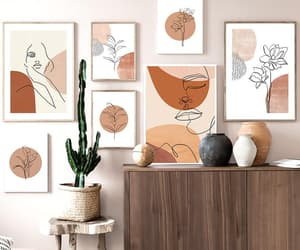 art, wall, and canvas image