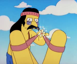 70s, aesthetic, and the simpsons image