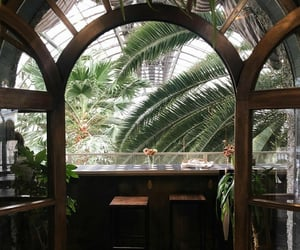 aesthetic, bar, and botanical garden image