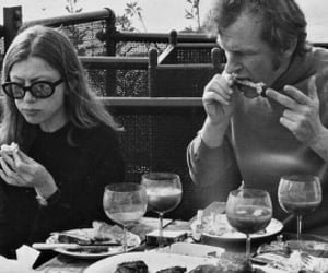 joan didion, writer, and the centre will not hold image