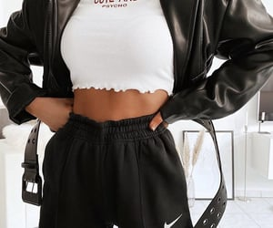black, cute, and stylé image