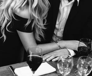 love and black and white image