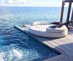 sea, summer, and luxury image