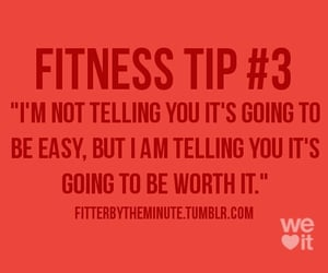 fitness, worth, and fitness tip image