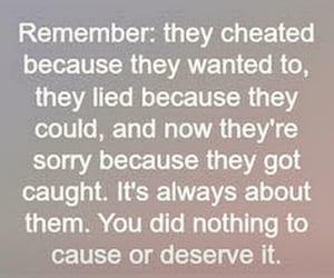 cheat, sad, and quotes image