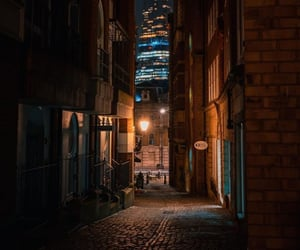night and streets image