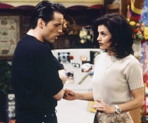 monica geller, friends, and joey tribbiani image
