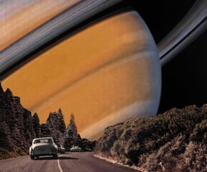 saturn, space, and car image