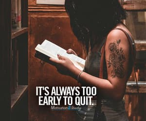 college, don't give up, and inspiration image