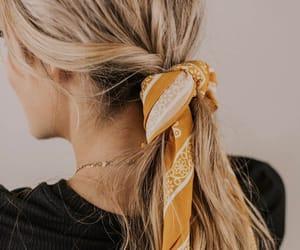 bandana, beige, and brown image