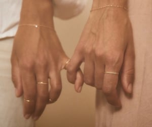 aesthetic, gold jewelry, and jewelry image