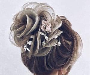 bun, elegant, and grey image