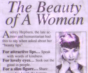 audrey hepburn, woman, and beauty image