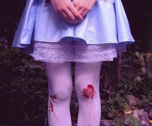 blood, dress, and alice image