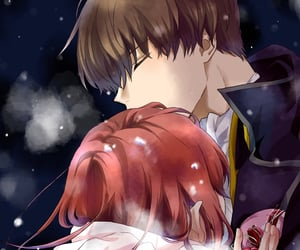 gintama, anime couple, and anime romance image