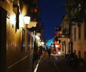 night, walk, and plaka image