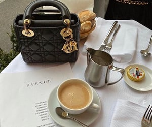 coffee, aesthetic, and dior image