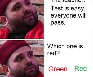 girls, green, and memes image