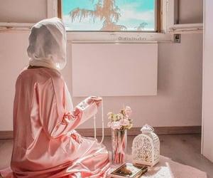 arabic, hijab, and home image