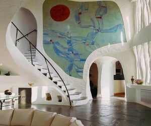 interior, house, and white image