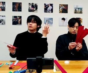 bts, bangtan, and taehyung image