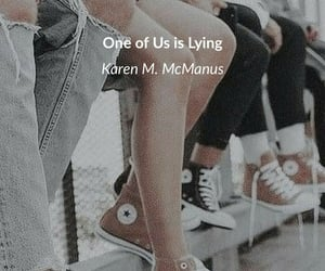 book, one of us is lying, and karen mcmanus image