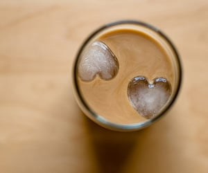 coffee, heart, and ice image