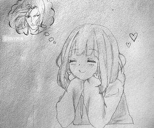 anime, baby girl, and crush image