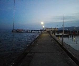 dark, inspiration, and lake image