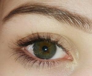 dark green and dark hazel eyes image