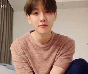 boyfriend, soft, and baekhyun image