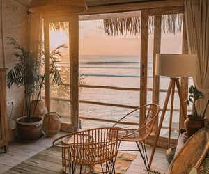 beige, sea, and home image