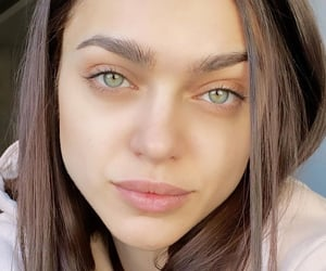 beauty, eyes, and natural beauty image