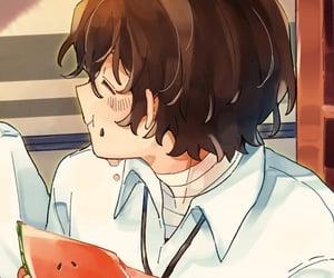 anime, couple, and dazai osamu image