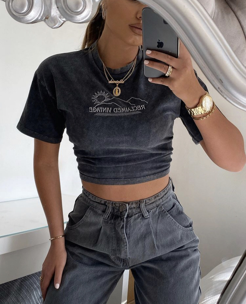 clothes, fashion, and grey image