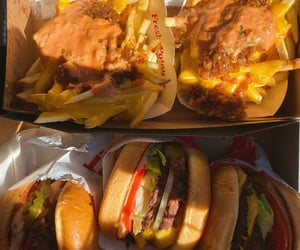 burger, burgers, and delicious image