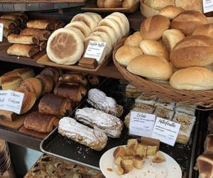 food, bread, and bakery image